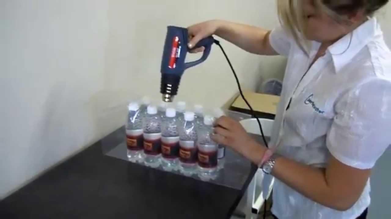 Máy co màng nắp chai bằng tay