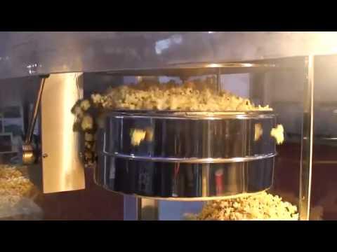 Bắp nổ đều khi sử dụng máy bắp rang bơ công nghiệp