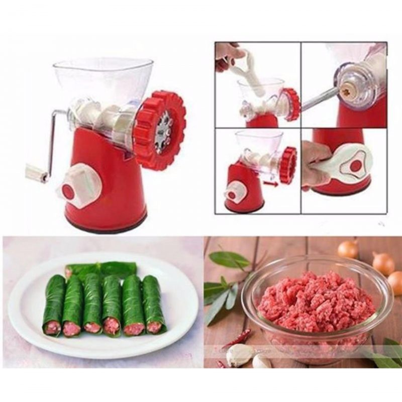 Lưu ý khi sử dụng máy xay thịt cầm tay
