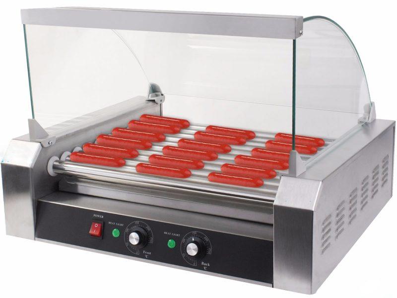 Máy nướng xúc xích công nghiệp 7 thanh