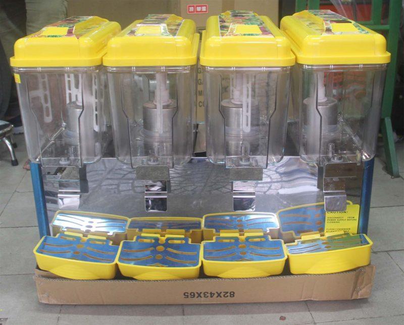 Máy làm lạnh nước công nghiệp 4 ngăn