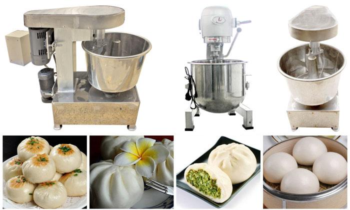 Máy trộn bột được sử dụng để làm nhiều loại bánh khác nhau