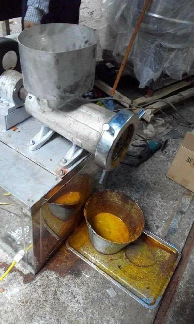 Máy xay nghiền nghệ tươi khi không được vệ sinh sạch sẽ