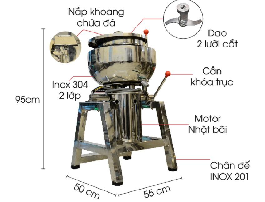 máy xay giò chả 1kg ở TPHCM