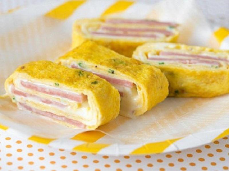 Món ngon từ trứng và xúc xích