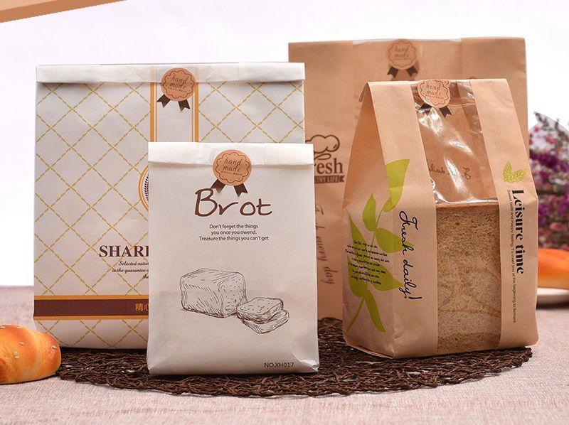 thiết kế bao bì bánh mì