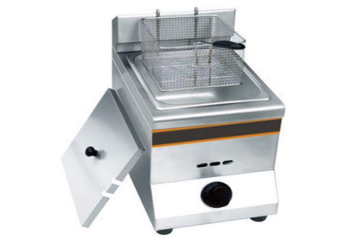 bếp chiên nhúng gas mini