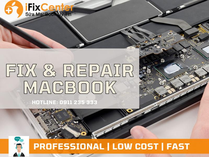 Macbook repair in Danang
