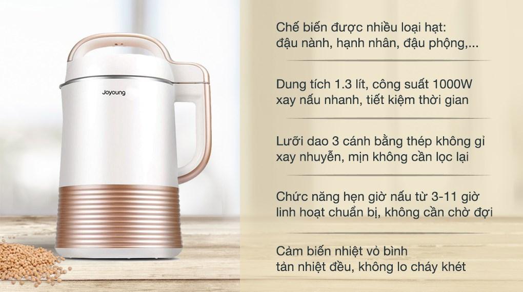 Máy làm sữa đậu nành Joyoung DJ13C- Q3