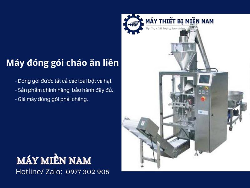 Máy Miền Nam - Máy đóng gói cháo ăn liền chất lượng nhất