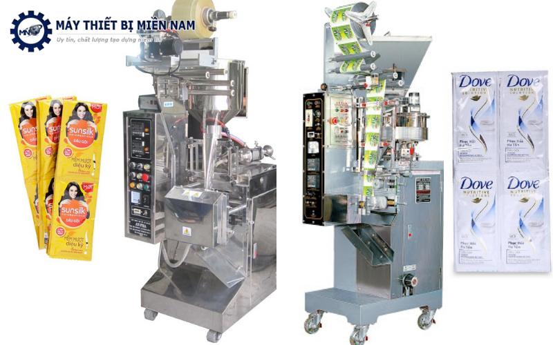 Nhà phân phối thiết bị công nghiệp - Máy đóng gói dầu gội đầu